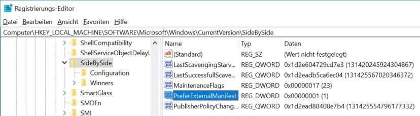 automatisches-windows-dpi-scaling-deaktivieren-preferexternalmanifest-regedit