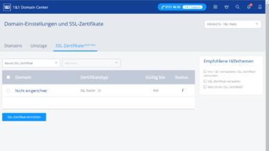 1und1 Webhosting 1und1-webhosting-test-2018-control-center-ssl