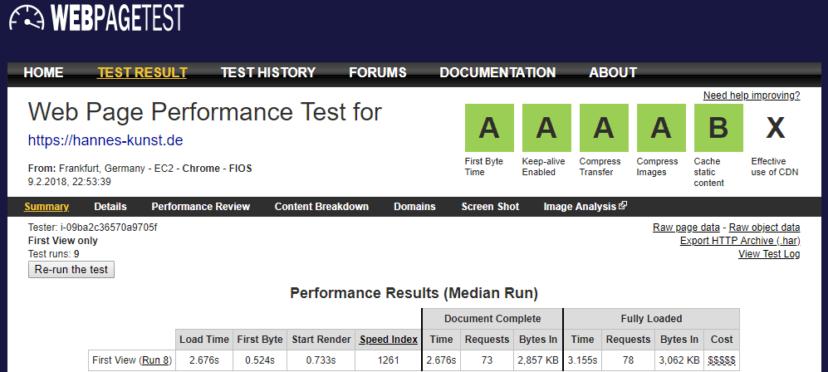 1und1 Webhosting 1und1-webhosting-test-2018-performance-webpagetest-hk