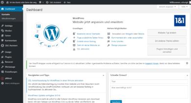 1und1 Webhosting 1und1-webhosting-test-2018-wordpress-1und1-assistent