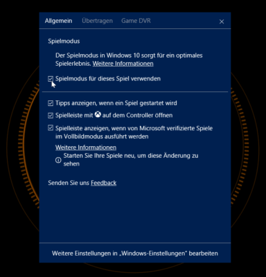 windows-10-game-mode-options