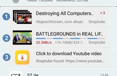 youtube-videos-unterwegs-ohne-internet-datenvolumen-android-snaptube-downloader-benachrichtigungen