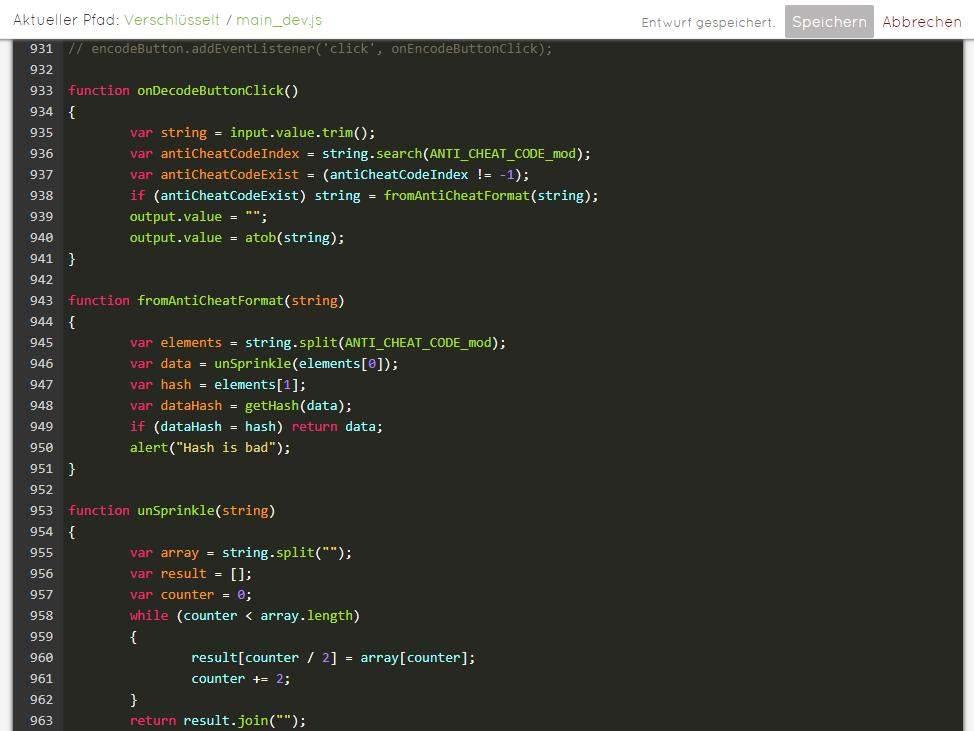 luckycloud-sicherer-deutscher-cloud-speicher-im-test-code-editor