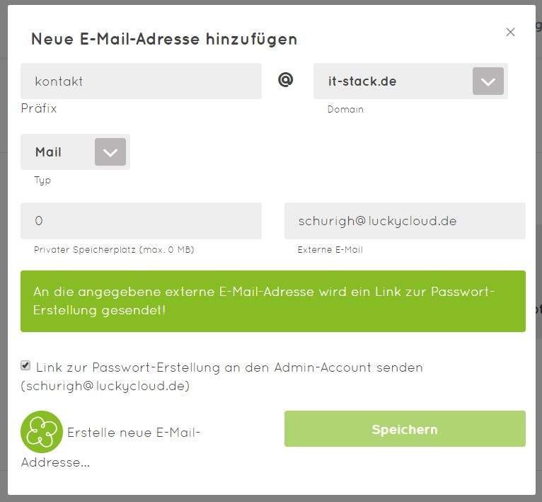 luckycloud-sicherer-deutscher-cloud-speicher-im-test-email-anlegen