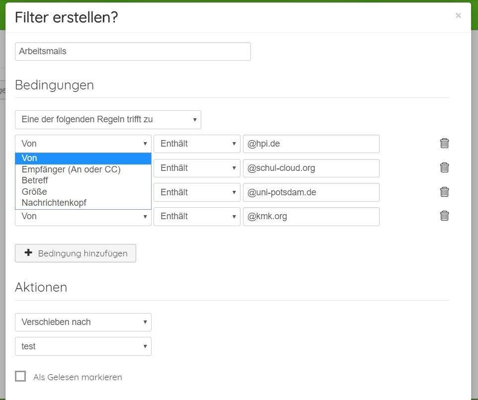 luckycloud-sicherer-deutscher-cloud-speicher-im-test-email-filter