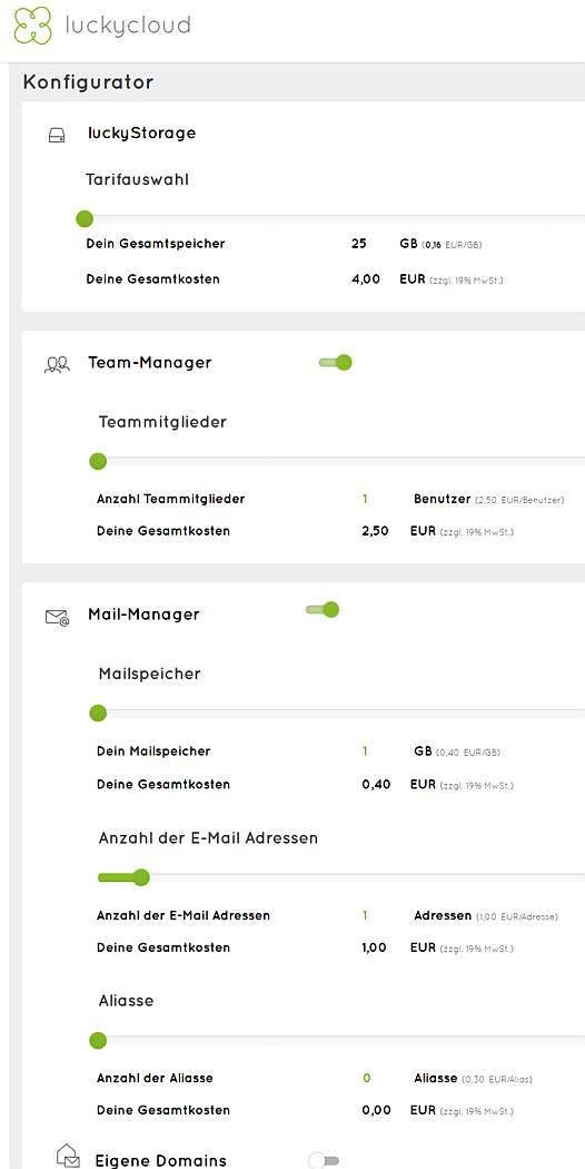 luckycloud-sicherer-deutscher-cloud-speicher-im-test-flexible-preise