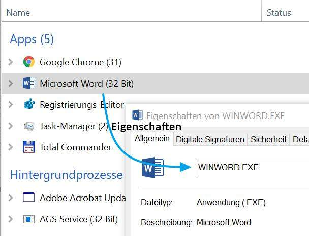 windows-restrictrun-start-whitelist-einrichten-dateiname-erkennen-taskmgr