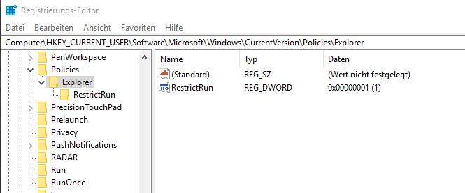 windows-restrictrun-start-whitelist-einrichten-regedit-konfigurieren-1