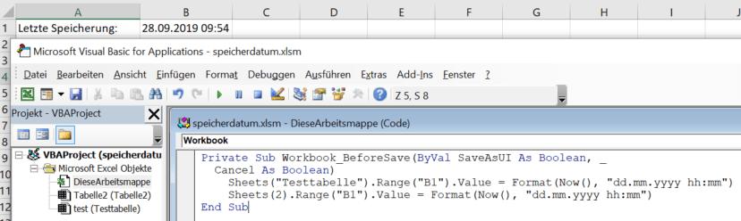 excel-letztes-aendern-speichern-oeffnen-des-dokuments-vba-code-speichern