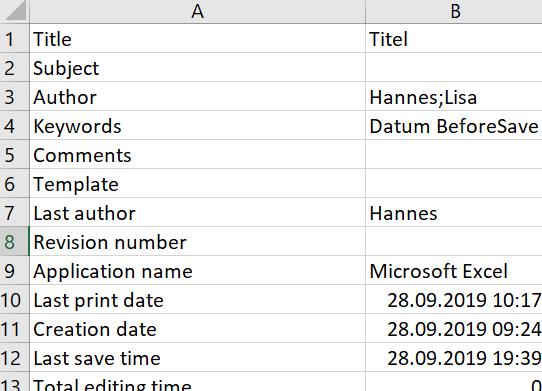 excel-letztes-aendern-speichern-oeffnen-des-dokuments-vba-code-speichern-builtindocumentproperties