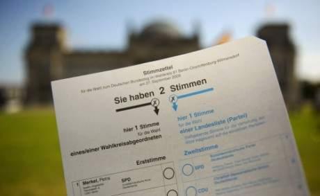 Stimmzettel ddp Michael Gottschalk1 Bundestagswahl, letzte Chance Infos zu sammeln