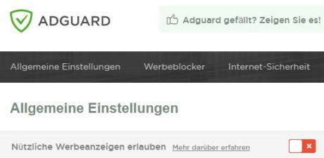 adblock-nuetzliche-nicht-aufdringliche-werbung-adguard-settings