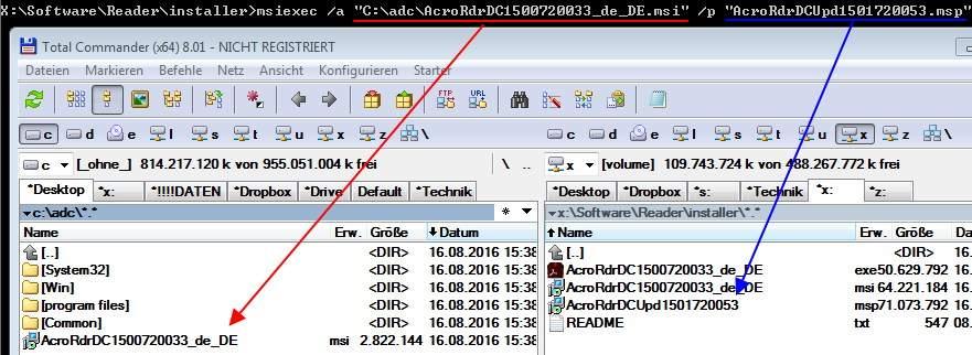 Adobe Reader DC Windows AD Batch-Script-Deployment • IT-Stack de