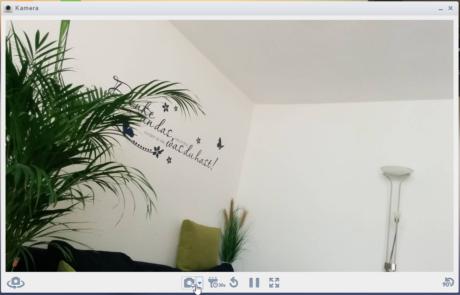 Das Bild zeigt die Kamera-Fernsteuern-Funktion von AirDroid