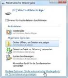 automatische wiedergabe optionen 140x160 Autoplay Verhalten von USB Geräten und Medien ändern