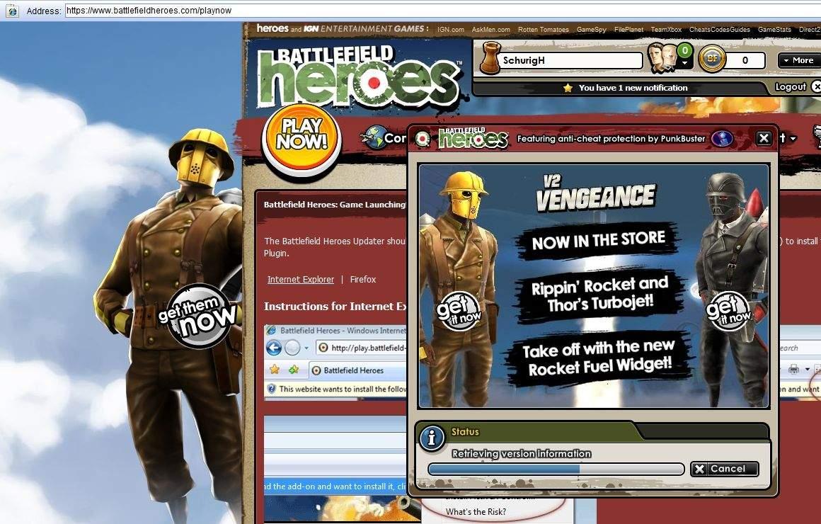 battlefield heroes spielen