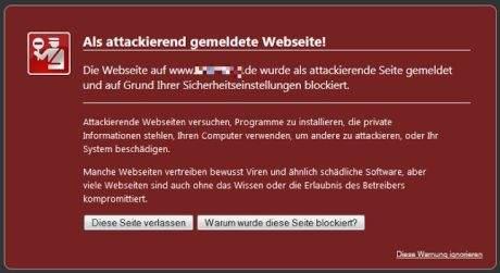 website-von-google-malware-warnung-befreien-warnung