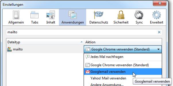 neuer tab soll google öffnen
