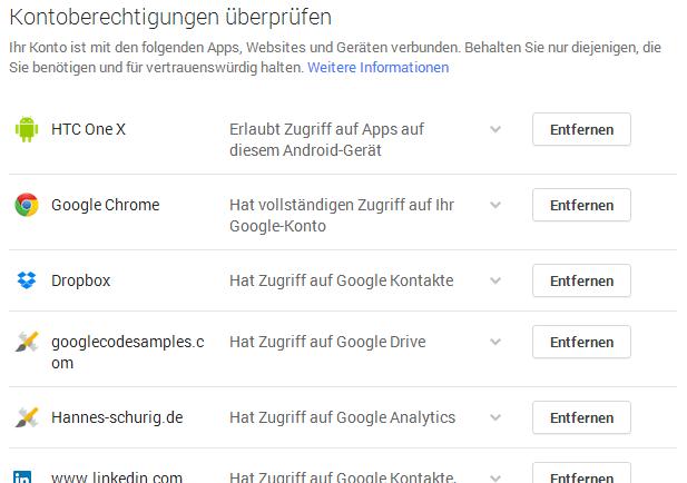 bestätigungscode google eingeben