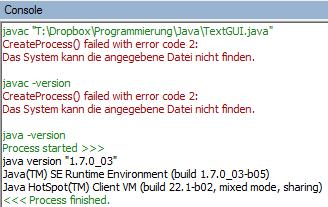 notepad++ java internal console external cmd path problems Java #0   Konsolenanwendungen mit Notepad++ schreiben und testen   internal vs external Console