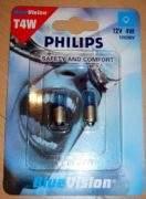 philips blue vision standlicht t4w s 2 132x180 Philips Blue Vision Autoscheinwerferlampen