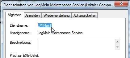 services.msc dienstname Windows Dienste löschen   Registry oder der sc Befehl