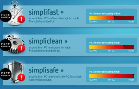 simplitec pc helper optimizer summary 460x297 Test: simplitec Power Suite   PC aufräumen, optimieren und Probleme lösen