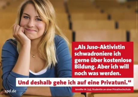 spd plakat verarsche 460x325 Witz der Woche: SPD Plakat