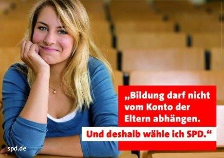 spd wahlkampf 09 plakat2 Witz der Woche: SPD Plakat