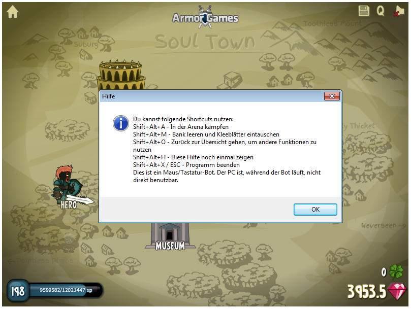 AutoIt Bot für das Browserspiel Swords and Souls • IT-Stack de