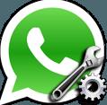 Banner: Whatsapp Icon mit einer Zange davor