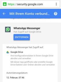 whatsapp-wiederherstellen-restore-google-drive-revoke-access