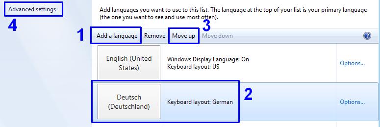 deutsche Tastatur in Windows 8 einrichten • IT-Stack de