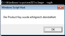 windows activation error code 0xc004f063 remove key 210x115 Windows Aktivierung: Fehler 0xC004F063
