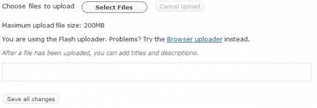 wordpress image upload fehlerhaft fails no detais 460x157 Wordpress Uploader defekt, Chrome hat Rechteprobleme